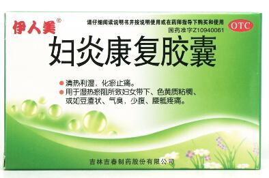 伊人美(妇炎康复胶囊少腹疼痛  湿热瘀阻