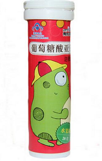 博凯泡泡牌葡萄糖酸亚铁泡腾片