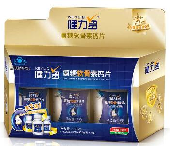 氨糖软骨素钙片 健力多 160片