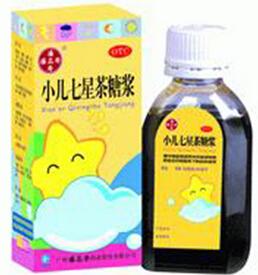 小儿七星茶糖浆价格对比 100ml 潘高寿药业